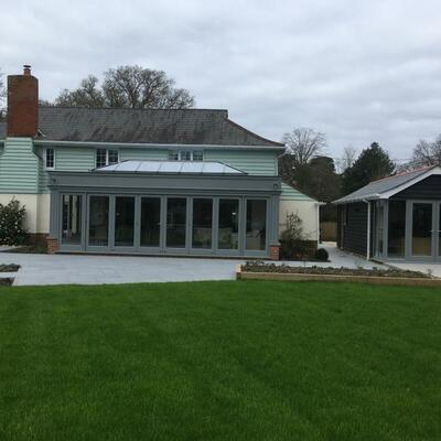 Recently completed Country House